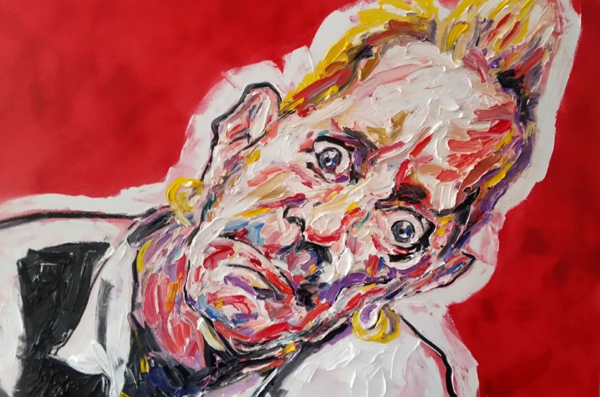 Johnny Rotten by TIPPETTURES